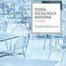 Second hand books - teoria sociologica moderna salvador giner,2 edicion,ariel - 53889469