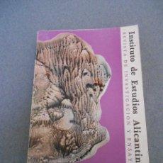 Libros de segunda mano: INSTITUTO DE ESTUDIOS ALICANTINOS Nº 37. Lote 54252038