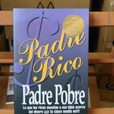 Libros de segunda mano: PADRE RICO, PADRE POBRE - ROBERT T. KIYOSAKI . Lote 54284104