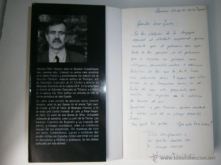 Libros de segunda mano: LOS NUEVOS SEÑORES FEUDALES ANTONIO PEREZ HENARES TH 1 edicion 1994 - Foto 5 - 54540812