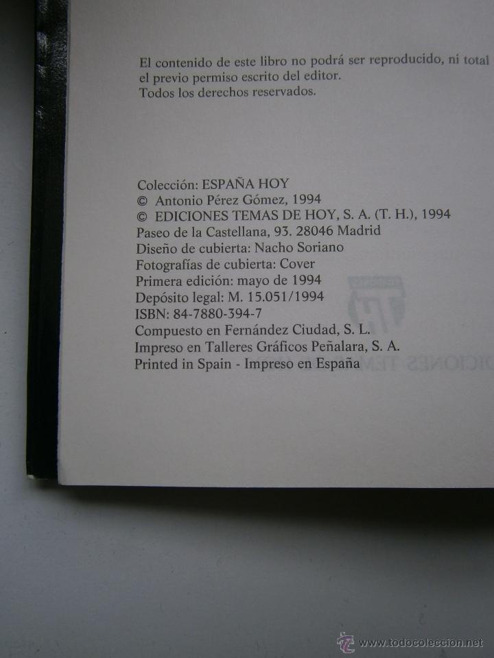 Libros de segunda mano: LOS NUEVOS SEÑORES FEUDALES ANTONIO PEREZ HENARES TH 1 edicion 1994 - Foto 7 - 54540812