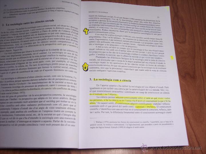 Libros de segunda mano: SOCIOLOGIA DE LEMPRESA (MÀRIUS DOMÍNGUEZ/SALVADOR CARRASCO/+6) - UNIVERSITAT DE BARCELONA (CATALÁN) - Foto 2 - 54991858