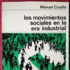 Libros de segunda mano: MANUEL CRUELLS . LOS MOVIMIENTOS SOCIALES. Lote 54992190