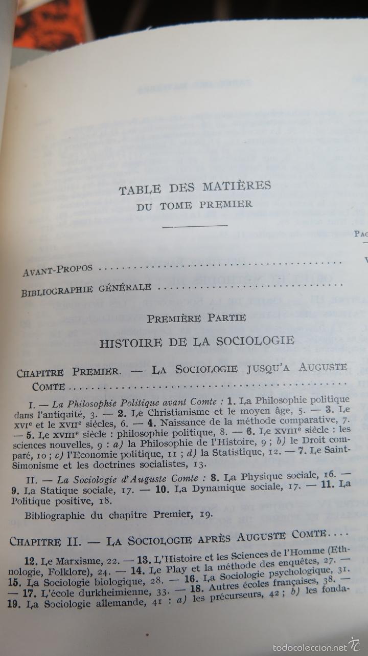 Libros de segunda mano: MANUEL DE SOCIOLOGIE. ARMAND CUVILLIER. 2 TOMOS - Foto 2 - 56147807