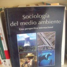 Libros de segunda mano: MICHAEL REDCLIFT Y GRAHAN WOODGATE (COORD.), SOCIOLOGÍA DEL MEDIO AMBIENTE. Lote 56231782