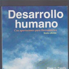 Libros de segunda mano: DESARROLLO HUMANO - CON APORTACIONES PARA IBEROAMÉRICA - MC GRAW HILL1998. Lote 56259906