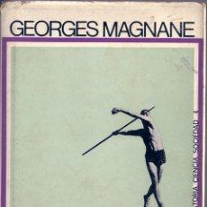 Libros de segunda mano: SOCIOLOGÍA DEL DEPORTE. DE GEORGES MAGNANE. Lote 56316270