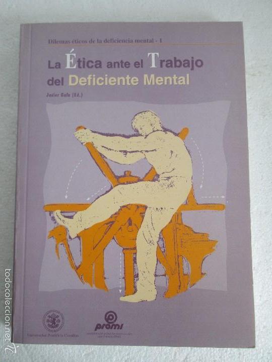 Libros de segunda mano: LA ETICA ANTE EL TRABAJO DEL DEFICIENTE MENTAL. MATRIMONIO Y DEFICIENCIA MENTAL. 2 LIBROS - Foto 6 - 57256113