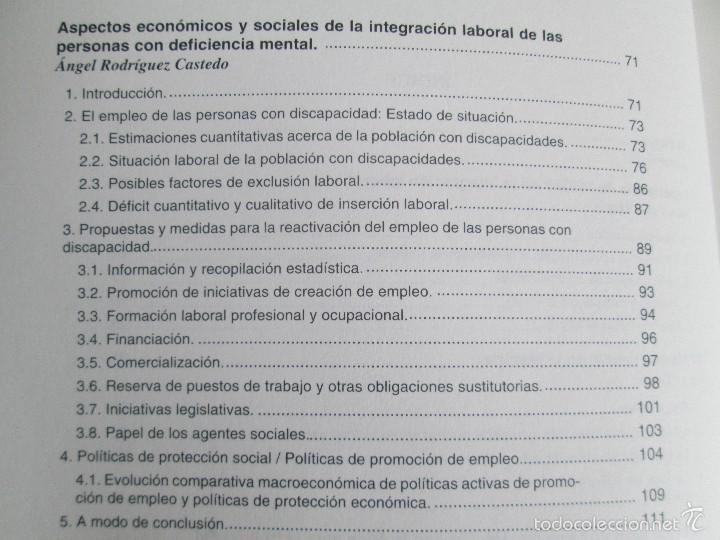 Libros de segunda mano: LA ETICA ANTE EL TRABAJO DEL DEFICIENTE MENTAL. MATRIMONIO Y DEFICIENCIA MENTAL. 2 LIBROS - Foto 11 - 57256113