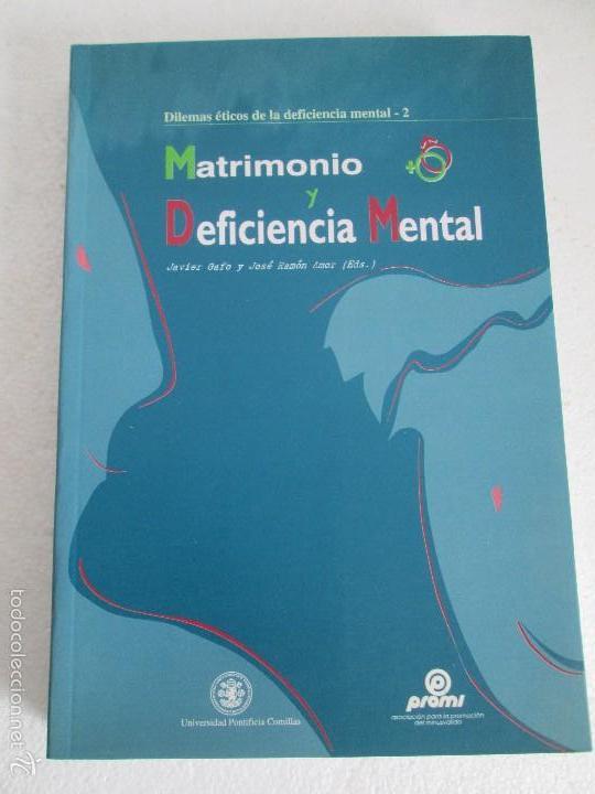 Libros de segunda mano: LA ETICA ANTE EL TRABAJO DEL DEFICIENTE MENTAL. MATRIMONIO Y DEFICIENCIA MENTAL. 2 LIBROS - Foto 21 - 57256113