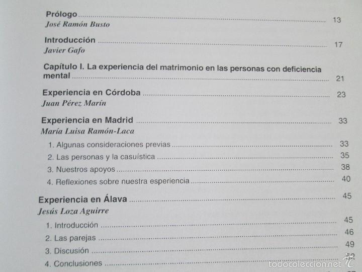 Libros de segunda mano: LA ETICA ANTE EL TRABAJO DEL DEFICIENTE MENTAL. MATRIMONIO Y DEFICIENCIA MENTAL. 2 LIBROS - Foto 24 - 57256113