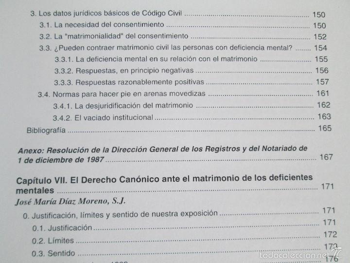 Libros de segunda mano: LA ETICA ANTE EL TRABAJO DEL DEFICIENTE MENTAL. MATRIMONIO Y DEFICIENCIA MENTAL. 2 LIBROS - Foto 28 - 57256113