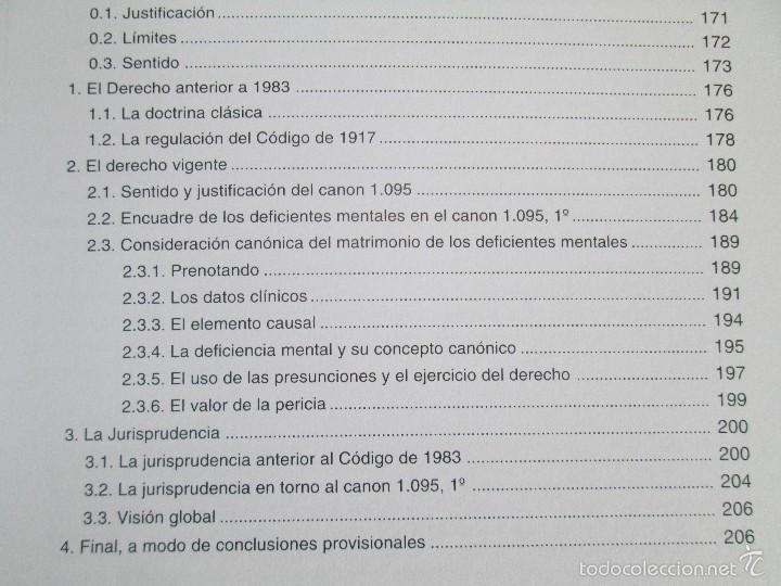 Libros de segunda mano: LA ETICA ANTE EL TRABAJO DEL DEFICIENTE MENTAL. MATRIMONIO Y DEFICIENCIA MENTAL. 2 LIBROS - Foto 29 - 57256113
