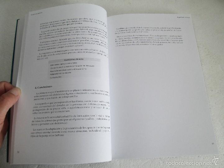 Libros de segunda mano: LA ETICA ANTE EL TRABAJO DEL DEFICIENTE MENTAL. MATRIMONIO Y DEFICIENCIA MENTAL. 2 LIBROS - Foto 33 - 57256113
