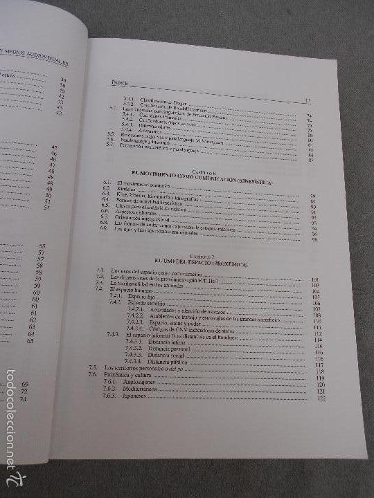 Libros de segunda mano: COMUNICACION NO VERBAL, PERIODISMO Y MEDIOS AUDIOVISUALES - Foto 5 - 57755605