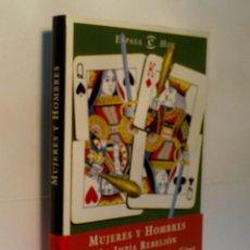 Libros de segunda mano: MUJERES Y HOMBRES. LA IMPÍA REBELIÓN. RIVIÈRE MARGARITA Y GINER SALVADOR. 1999. Lote 57761875