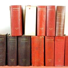 Libros de segunda mano: 7794 - HERALDICA GUÍA DE SOCIEDAD. 12 VOLUM(VER DESCRIP). TALL. J. TORROBA. 1959/1978.. Lote 58064716
