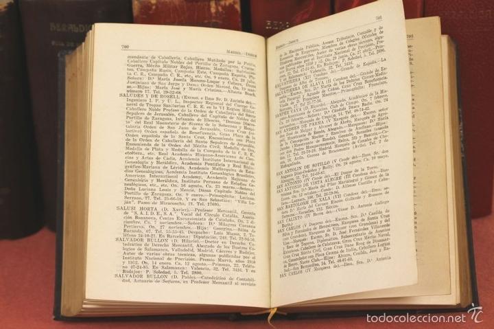 Libros de segunda mano: 7794 - HERALDICA GUÍA DE SOCIEDAD. 12 VOLUM(VER DESCRIP). TALL. J. TORROBA. 1959/1978. - Foto 4 - 58064716