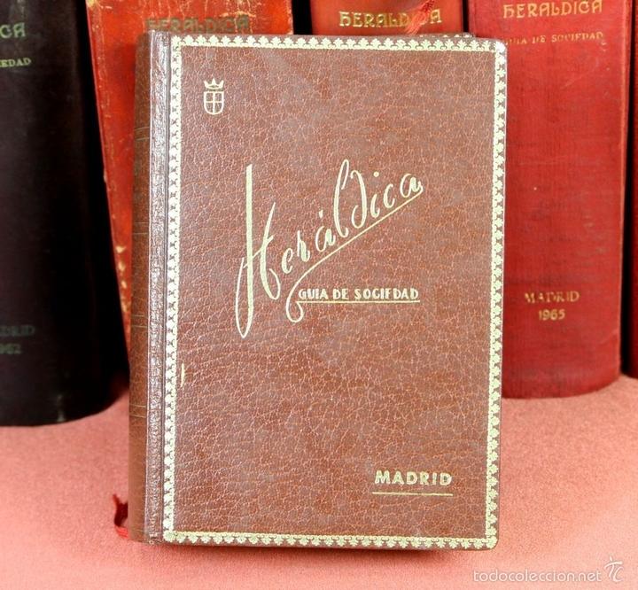 Libros de segunda mano: 7794 - HERALDICA GUÍA DE SOCIEDAD. 12 VOLUM(VER DESCRIP). TALL. J. TORROBA. 1959/1978. - Foto 8 - 58064716