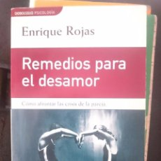 Libros de segunda mano: REMEDIOS PARA EL DESAMOR - ENRIQUE ROJAS -REFM1E3. Lote 58065689