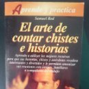 Libros de segunda mano: EL ARTE DE CONTAR CHISTES E HISTORIAS -REFM1E3. Lote 58069077