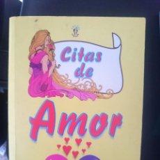 Libros de segunda mano: CITAS DE AMOR -REFM1E3. Lote 58069346