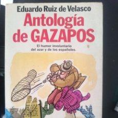 Libros de segunda mano: ANTOLOGIA DE GAZAPOS - EL HUMOR INVOLUNTARIO DEL AZAR Y DE LOS ESPAÑOLES -REFM1E3. Lote 58070318