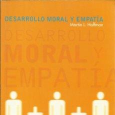 Libros de segunda mano: DESARROLLO MORAL Y EMPATIA. Lote 103922223