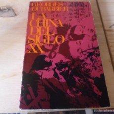 Libros de segunda mano: LA CHINA DEL SIGLO XX. GEORGES DUBARABIER. 1967 249PP. Lote 58773661