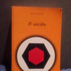 Libros de segunda mano: EL SUICIDIO. E. DURKHEIM. Lote 59945347