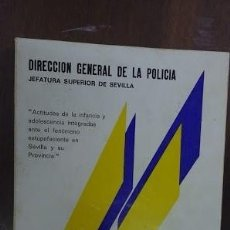 Libros de segunda mano: ACTITUDES ANTE EL FENÒMENO ESTUPEFACIENTE 1982 DIRECCIÒN GENERAL DE LA POLICIA. Lote 62012868