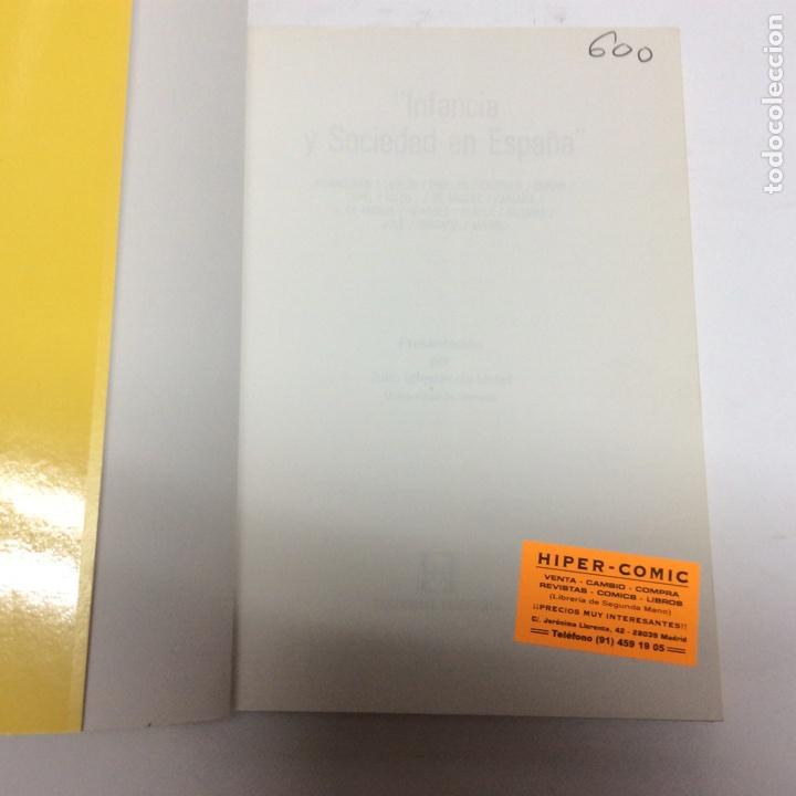 Libros de segunda mano: Infancia y sociedad en España / Aranguren J. L., Ccerezo Galan ( otros ) ed. hesperia 1983 - Foto 2 - 63282056