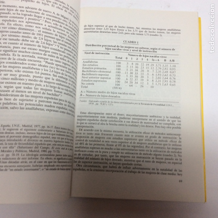 Libros de segunda mano: Infancia y sociedad en España / Aranguren J. L., Ccerezo Galan ( otros ) ed. hesperia 1983 - Foto 3 - 63282056