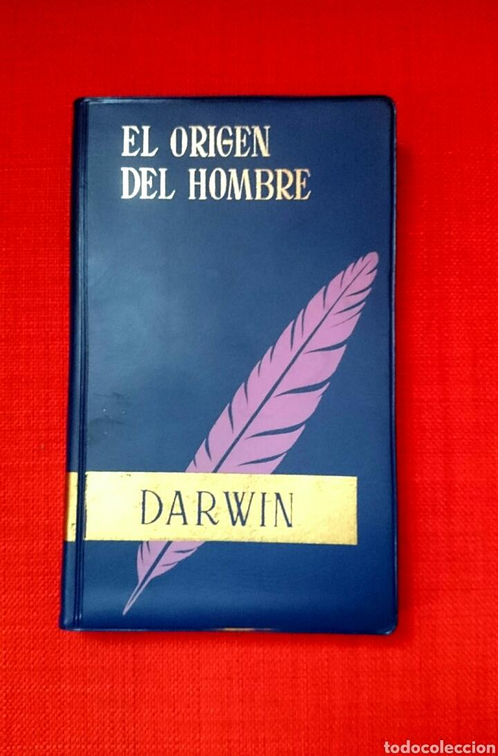 CHARLES DARWIN -EL ORIGEN DEL HOMBRE Y LA SELECCIÓN EN RELACIÓN AL SEXO - 1966 (Libros de Segunda Mano - Pensamiento - Sociología)