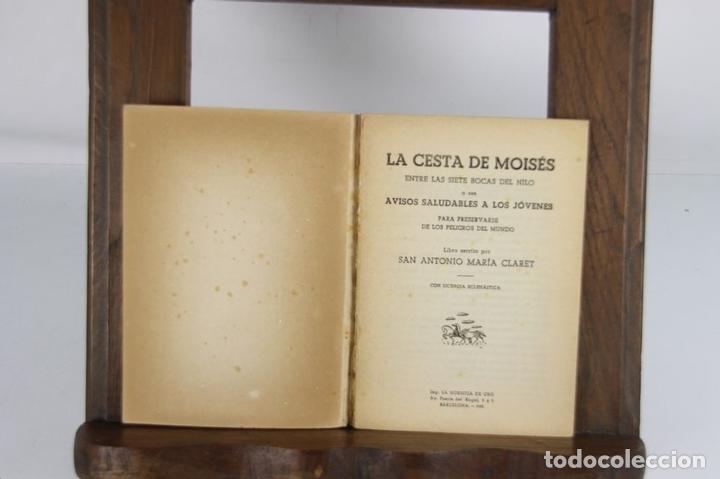Libros de segunda mano: 5208- SAN ANTONIO MARIA CLARET. IMP. LA HORMIGA DE ORO. 4 TITULOS. 1951. - Foto 2 - 45307178