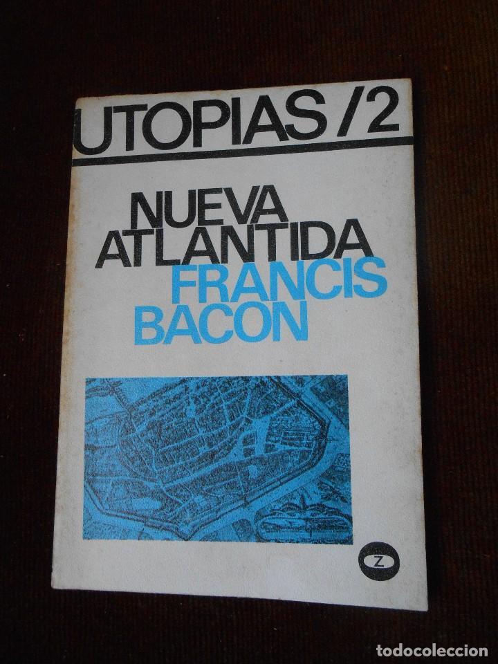 NUEVA ATLANTIDA -FRANCIS BACON (Libros de Segunda Mano - Pensamiento - Sociología)