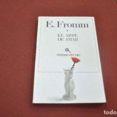 Libros de segunda mano: EL ARTE DE AMAR - ERICH FROMM - PAIDOS STUDIO - AP1. Lote 95685878