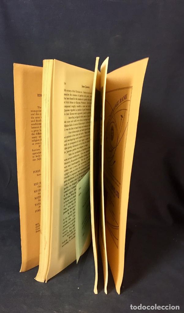 Libros de segunda mano: japan quarterly vol V nº1 january march 1958 asahi shimbun-sha tokyo 25,5x17,5cms - Foto 7 - 67473277