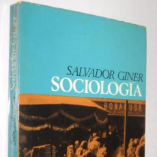 Libros de segunda mano: SOCIOLOGIA- SALVADOR GINER *. Lote 68653685