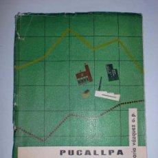 Libros de segunda mano: PUCALLPA. ESTUDIO SOCIO-RELIGIOSO DE UNA CIUDAD DEL PERÚ. VÁZQUEZ (JESÚS MARÍA). EDITORIAL O.P.E.. Lote 69603449