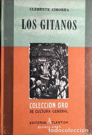 Libros de segunda mano: Cimorra: Los gitanos. (1944. 1ª ed.) Láminas fotográficas. Cartoné - Foto 2 - 70359645