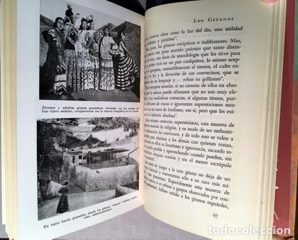 Libros de segunda mano: Cimorra: Los gitanos. (1944. 1ª ed.) Láminas fotográficas. Cartoné - Foto 3 - 70359645