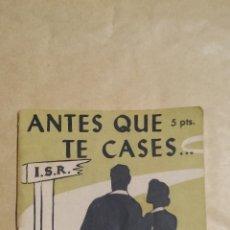 Libros de segunda mano: LOTE DE 11 FOLLETOS DE PUBLICACIONES A C U. EDITORIAL SAL TERRAE - AÑO 1961. Lote 72774987