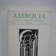 Libros de segunda mano: AXERQUIA ESTUDIOS CORDOBESES N4. CÓRDOBA 1982. Lote 74894619