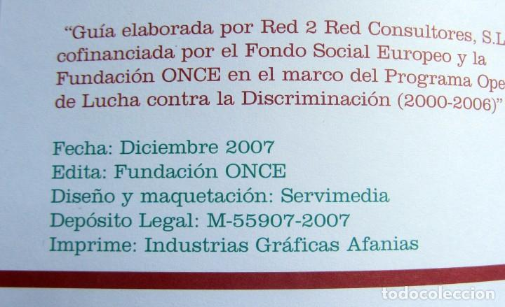 Libros de segunda mano: LA IGUALDAD DE TRATO EN EL EMPLEO - GUIA PRÁCTICA - Foto 2 - 75666871