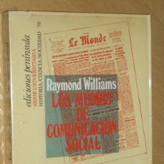 Second hand books - LOS MEDIOS DE COMUNICACIÓN SOCIAL.- Raymond Williams - 76366527