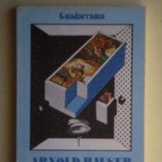 Libros de segunda mano: FUNDAMENTOS DE LA SOCIOLOGIA DEL ARTE - ARNOLD HAUSER - EDICIONES GUADARRAMA, 1975, 1ª EDICION. Lote 76396331