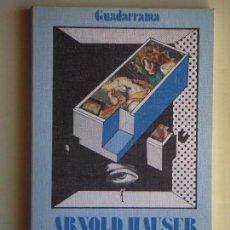 Libros de segunda mano: SOCIOLOGIA DEL ARTE 2. ARTE Y CLASES SOCIALES - ARNOLD HAUSER - EDICIONES GUADARRAMA, 1977. Lote 76396587