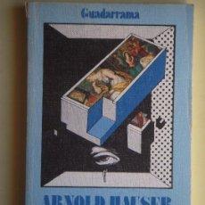 Libros de segunda mano: SOCIOLOGIA DEL ARTE 4. SOCIOLOGIA DEL PUBLICO - ARNOLD HAUSER - EDICIONES GUADARRAMA, 1977. Lote 76396851