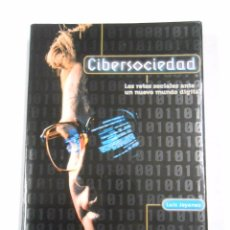 Libros de segunda mano: CIBERSOCIEDAD. LOS RETOS SOCIALES ANTE UN NUEVO MUNDO DIGITAL. LUIS JOYANES AGUILAR TDK23. Lote 35872432